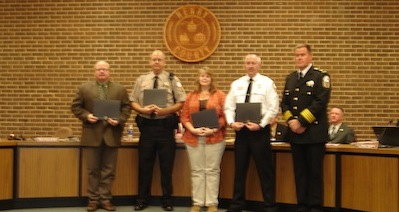 Valor Award Recipients